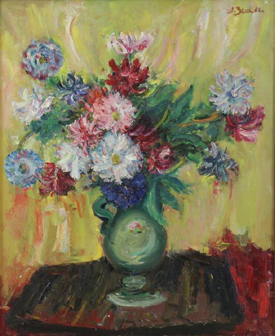 Jacques Zucker (American, 1900-1981) Floral Still Life - 2