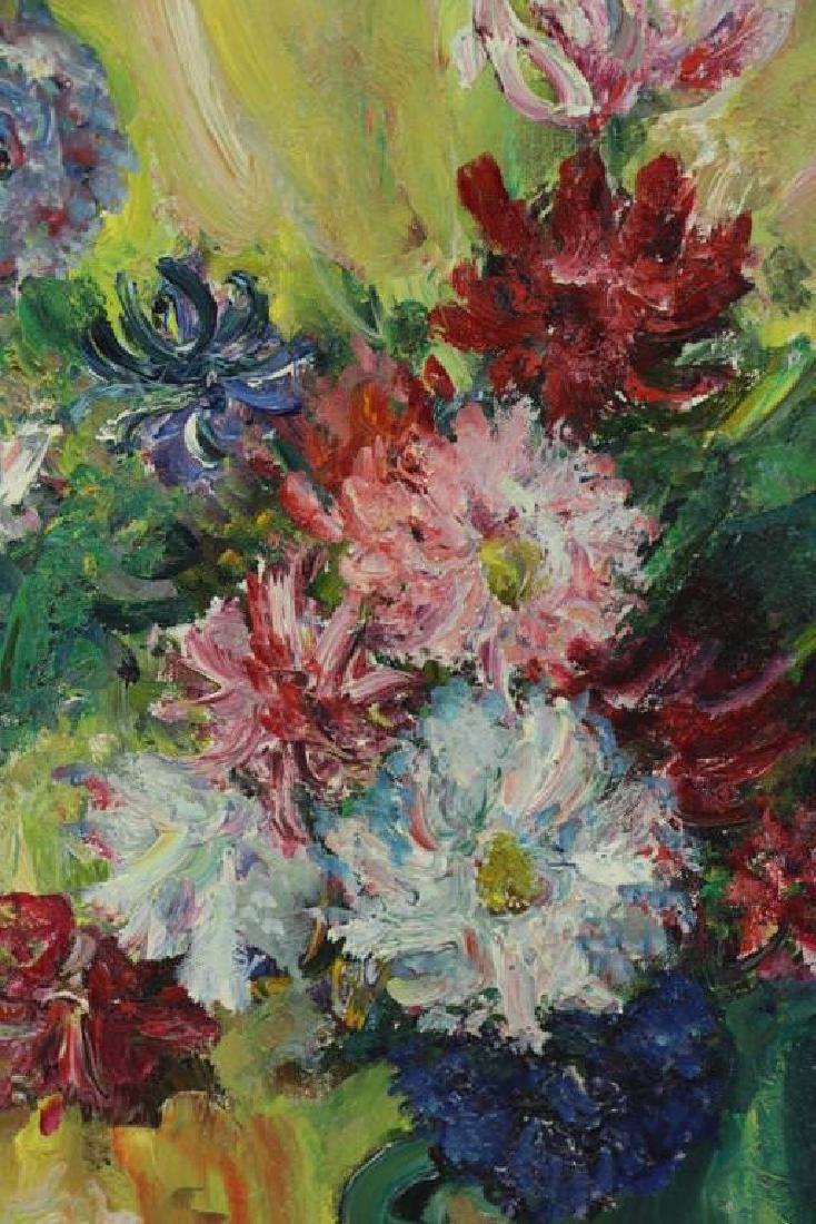 Jacques Zucker (American, 1900-1981) Floral Still Life - 3