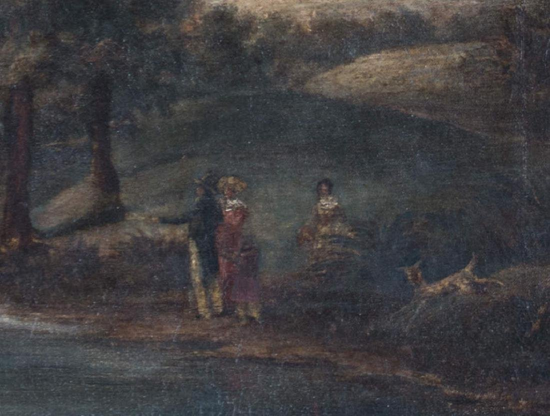 Figures in a Landscape, 18th/19th Century Continental - 3