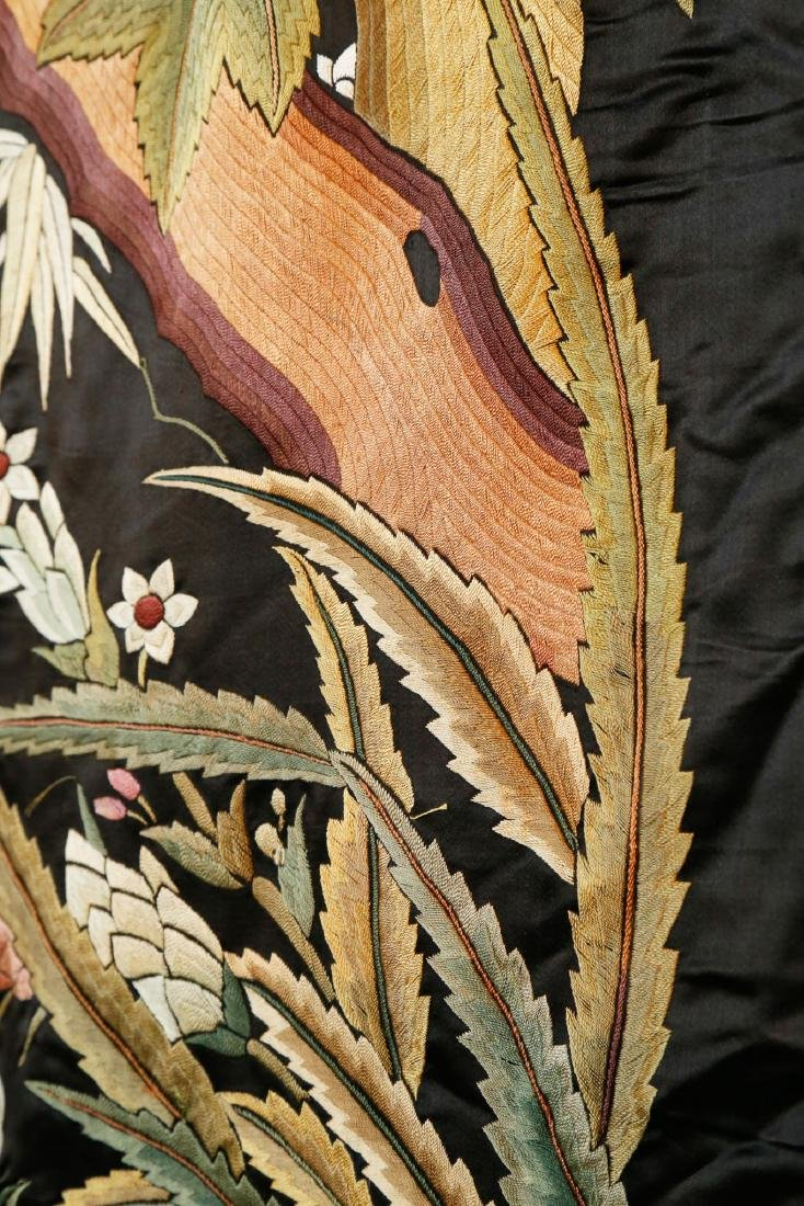 Rare Monumental 19th Century Chinese Embroidery - 5