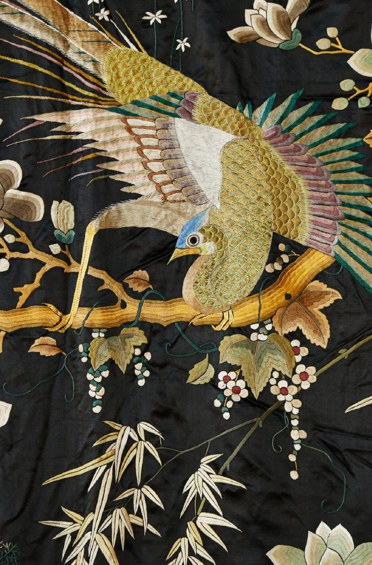 Rare Monumental 19th Century Chinese Embroidery - 6