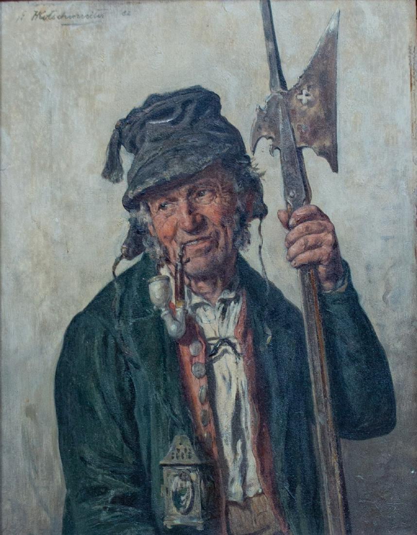 Hugo Kotschenreiter (German, 1854-1908) Night Watch, - 2