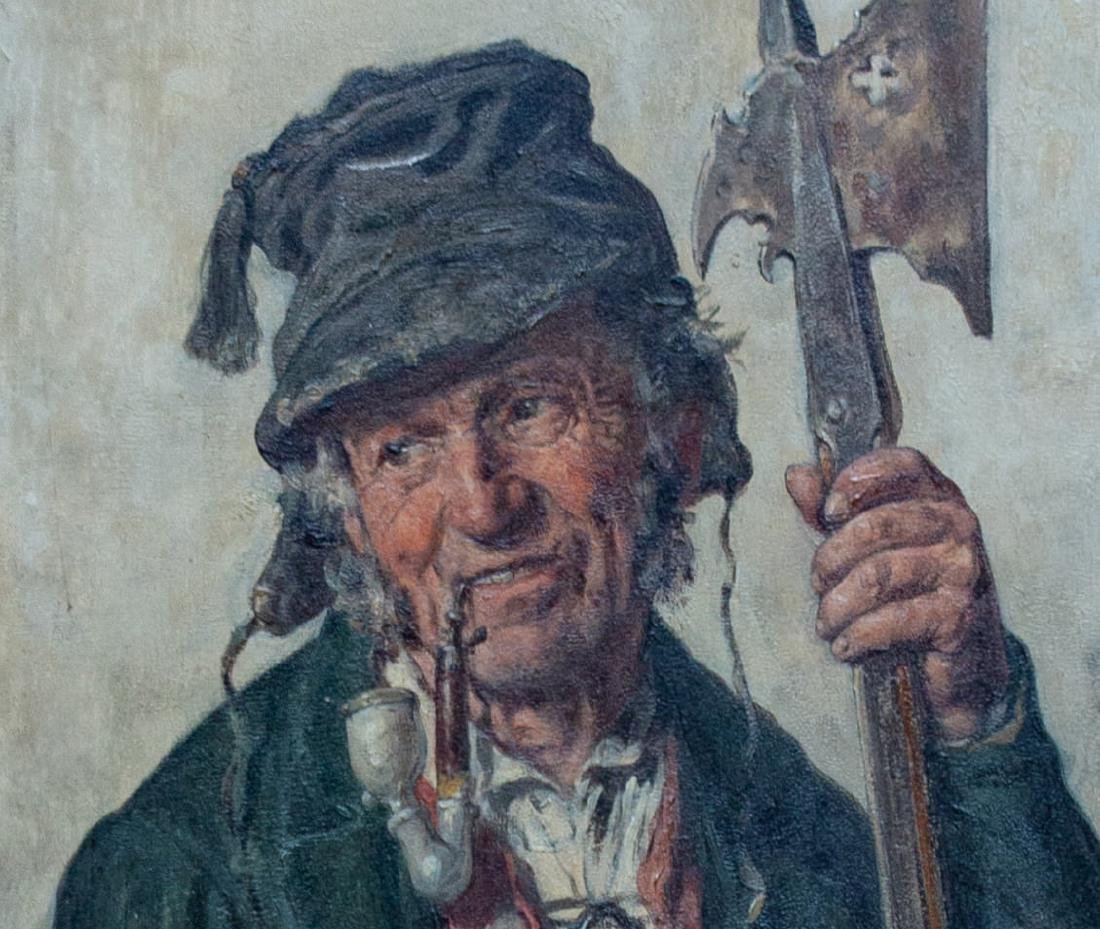 Hugo Kotschenreiter (German, 1854-1908) Night Watch, - 5