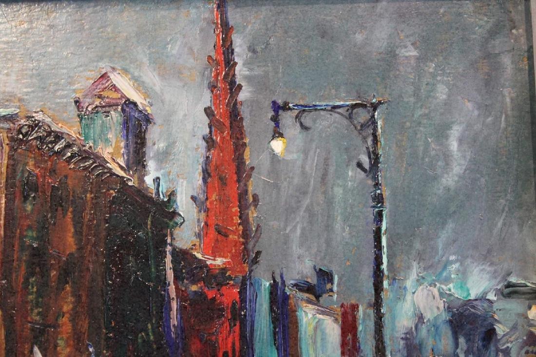 Louis Bosa (American, 1905-1981) New York City Street - 10