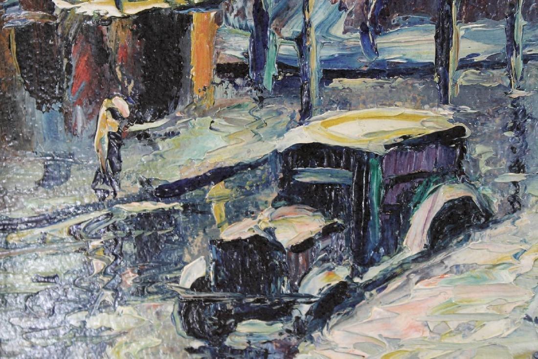 Louis Bosa (American, 1905-1981) New York City Street - 3