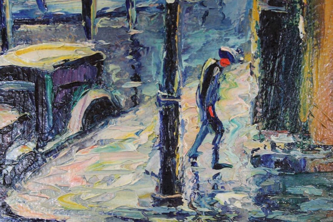 Louis Bosa (American, 1905-1981) New York City Street - 4