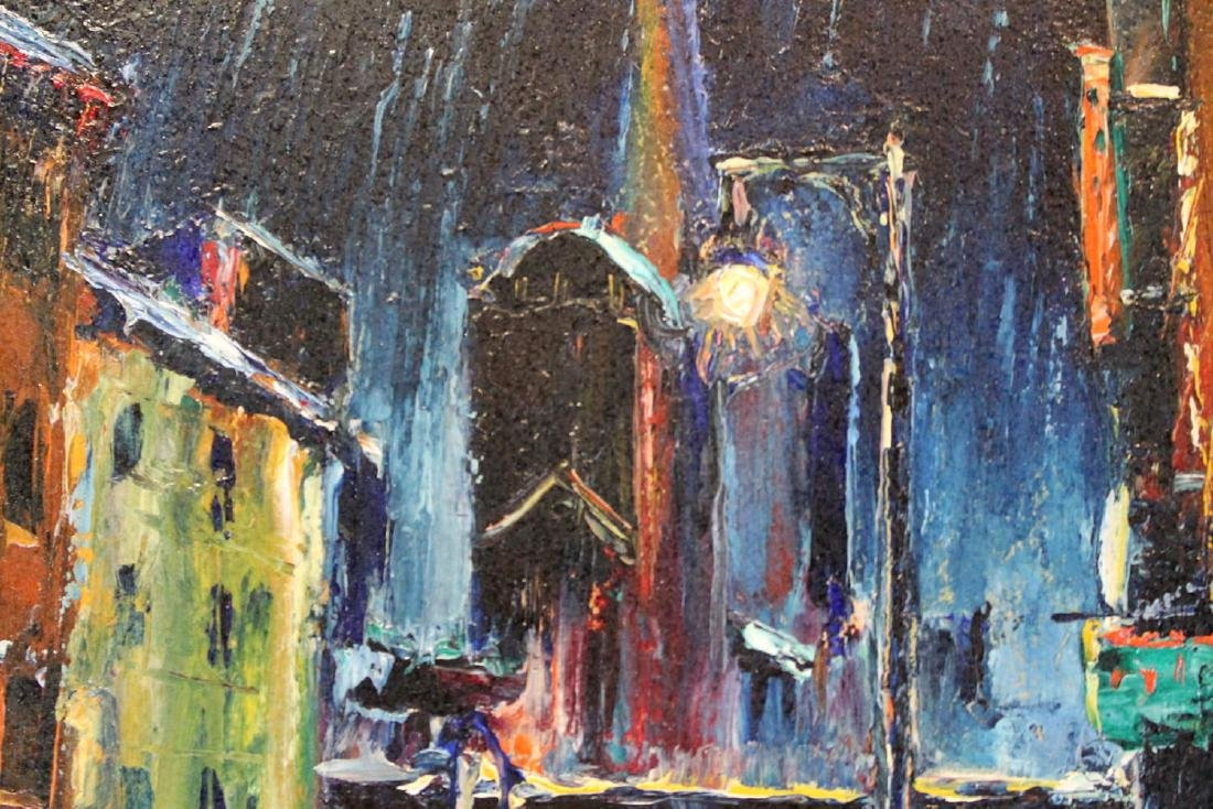 Louis Bosa (American, 1905-1981) New York City Street - 5