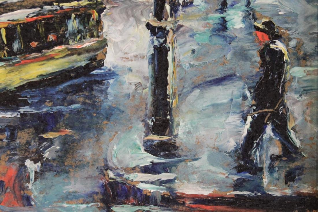 Louis Bosa (American, 1905-1981) New York City Street - 7