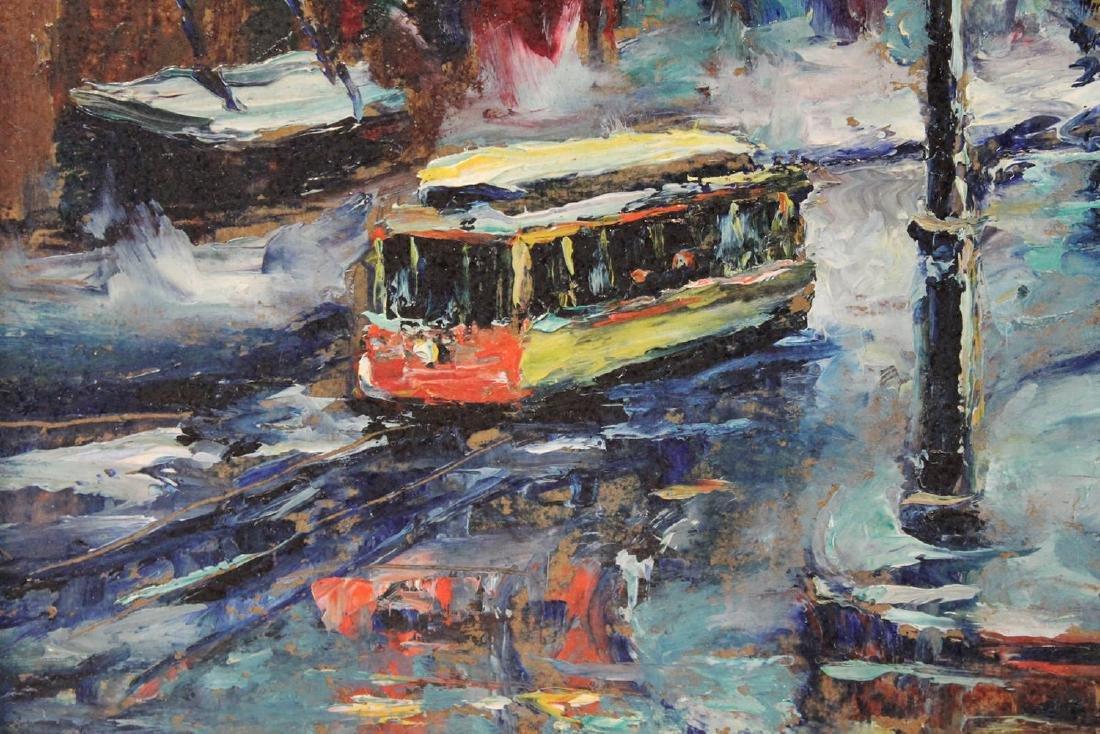 Louis Bosa (American, 1905-1981) New York City Street - 8