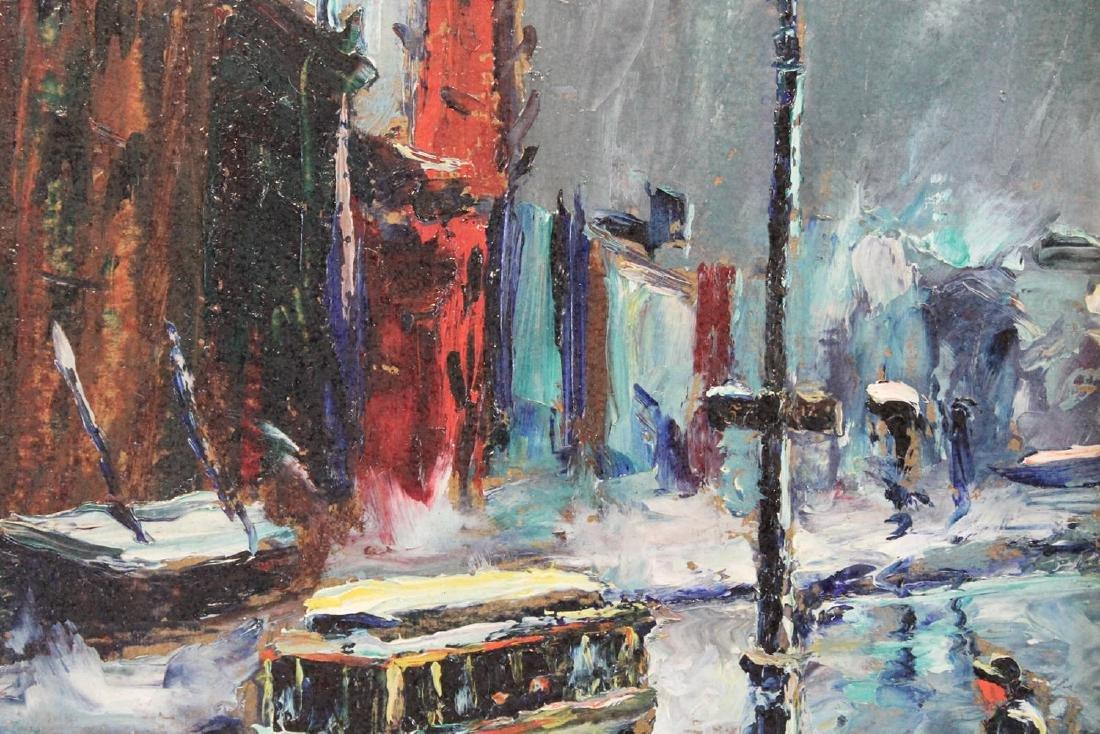 Louis Bosa (American, 1905-1981) New York City Street - 9