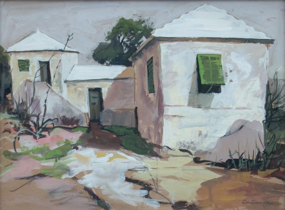 Carl Frederick Gaertner (American, 1898-1952) Bermuda, - 2