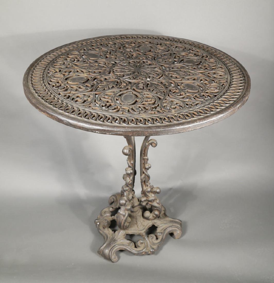 Cast Iron Garden Table, 19th Century - 3