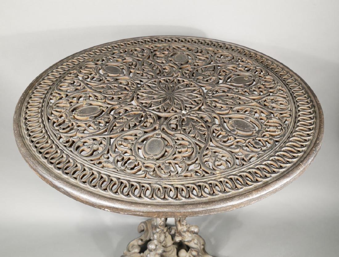 Cast Iron Garden Table, 19th Century - 4