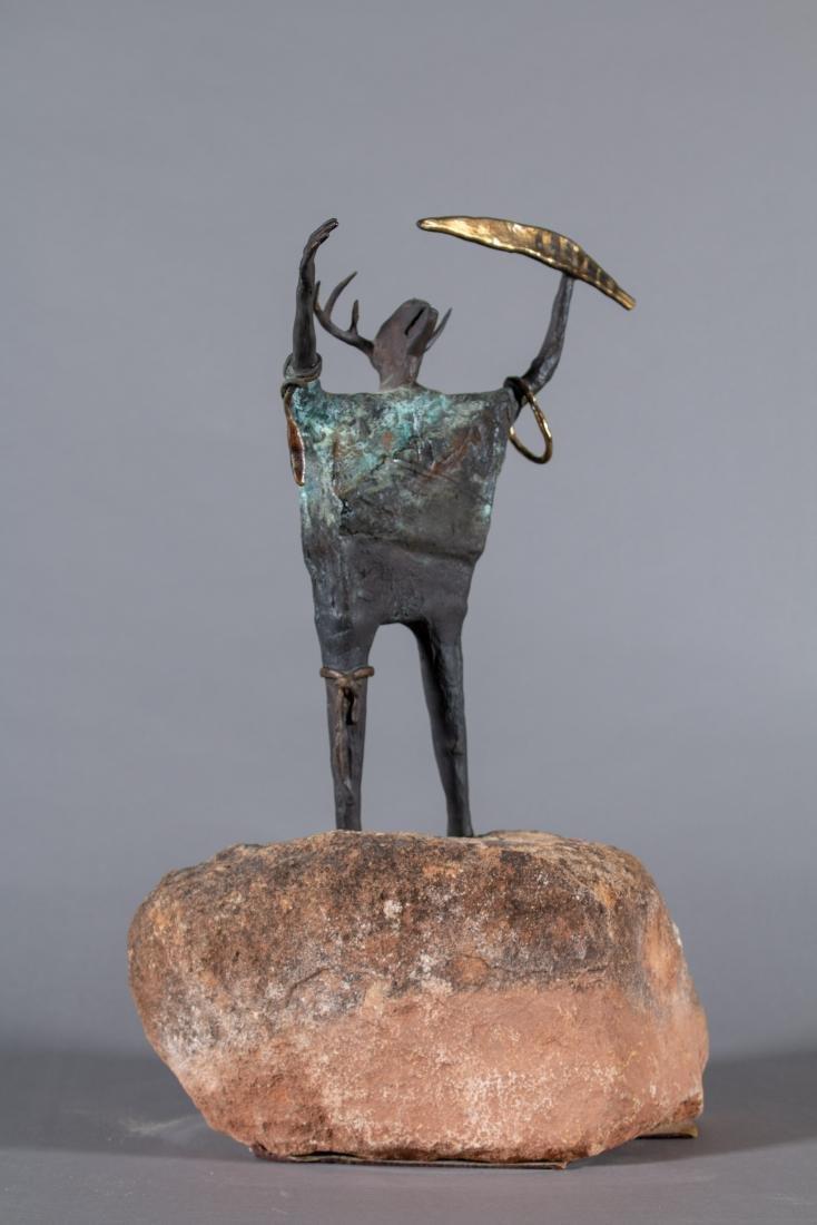 Bill Worrell (American, Born 1936) The Shaman, 1984 - 4