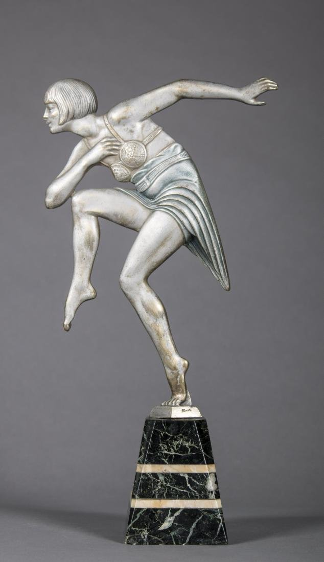 Max Le Verrier (French) Art Deco Dancing Figure
