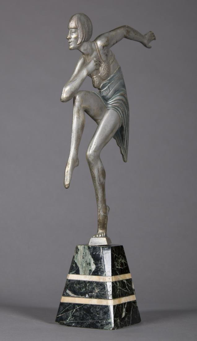 Max Le Verrier (French) Art Deco Dancing Figure - 2