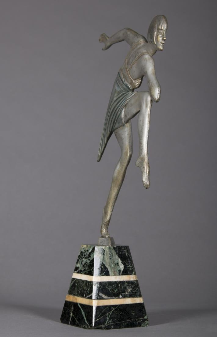 Max Le Verrier (French) Art Deco Dancing Figure - 4