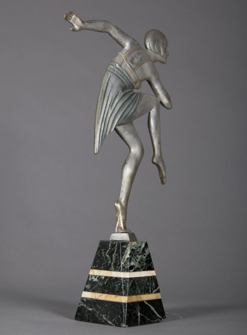 Max Le Verrier (French) Art Deco Dancing Figure - 6