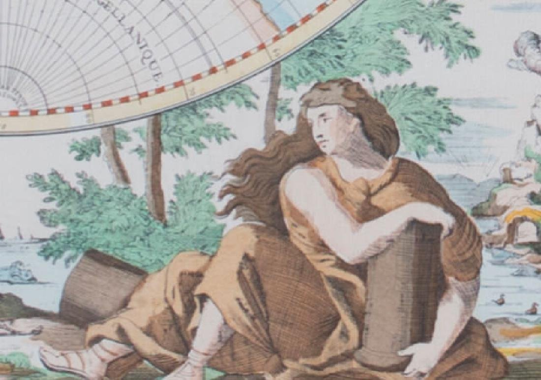 Two 17th Century Maps, Astrological and Terrestrial - 10