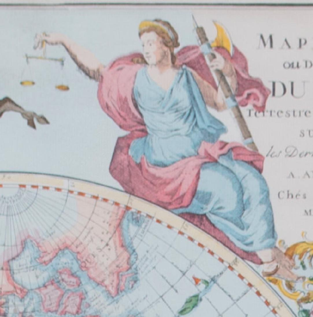 Two 17th Century Maps, Astrological and Terrestrial - 6