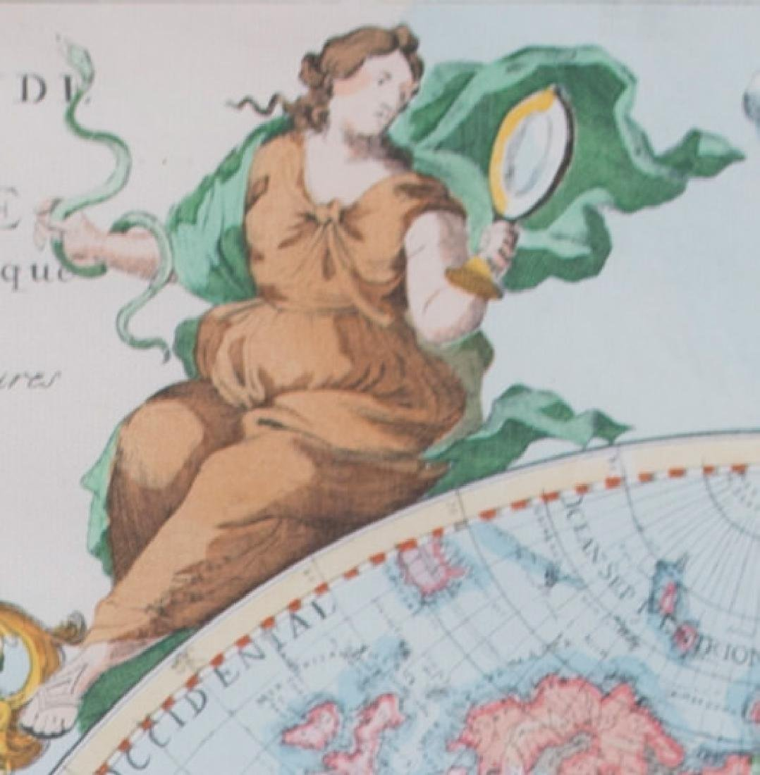 Two 17th Century Maps, Astrological and Terrestrial - 7