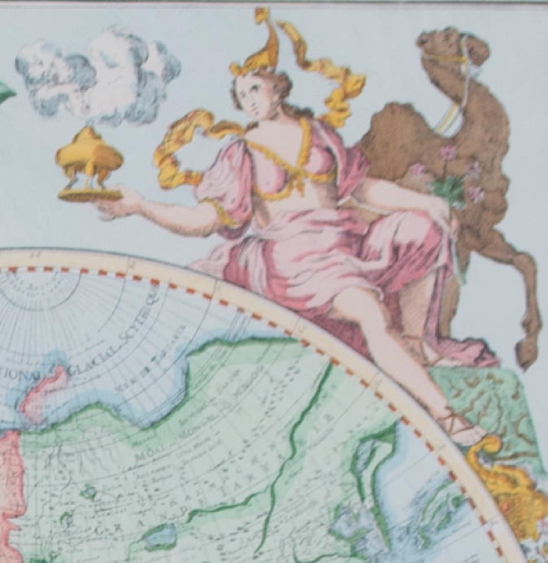 Two 17th Century Maps, Astrological and Terrestrial - 8