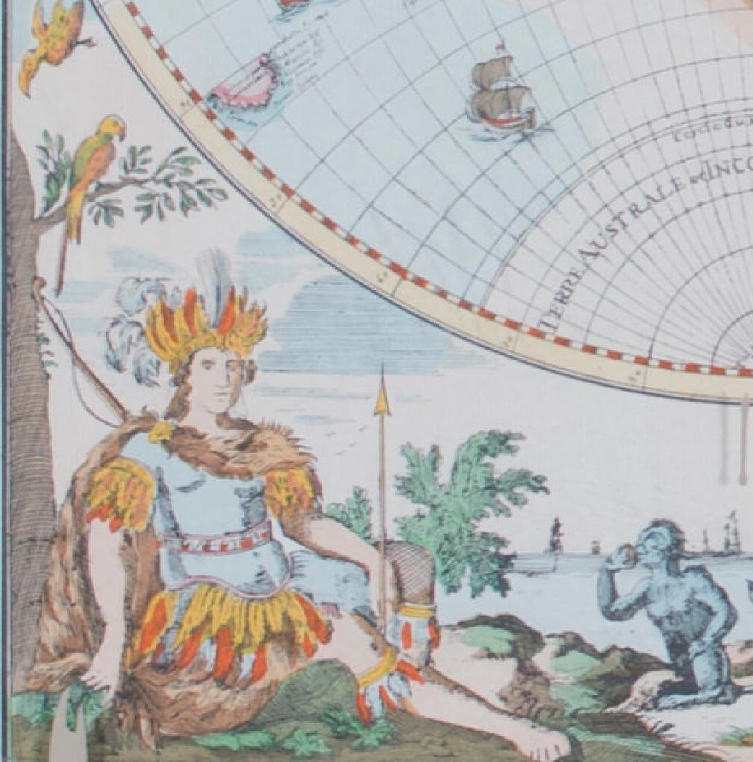 Two 17th Century Maps, Astrological and Terrestrial - 9