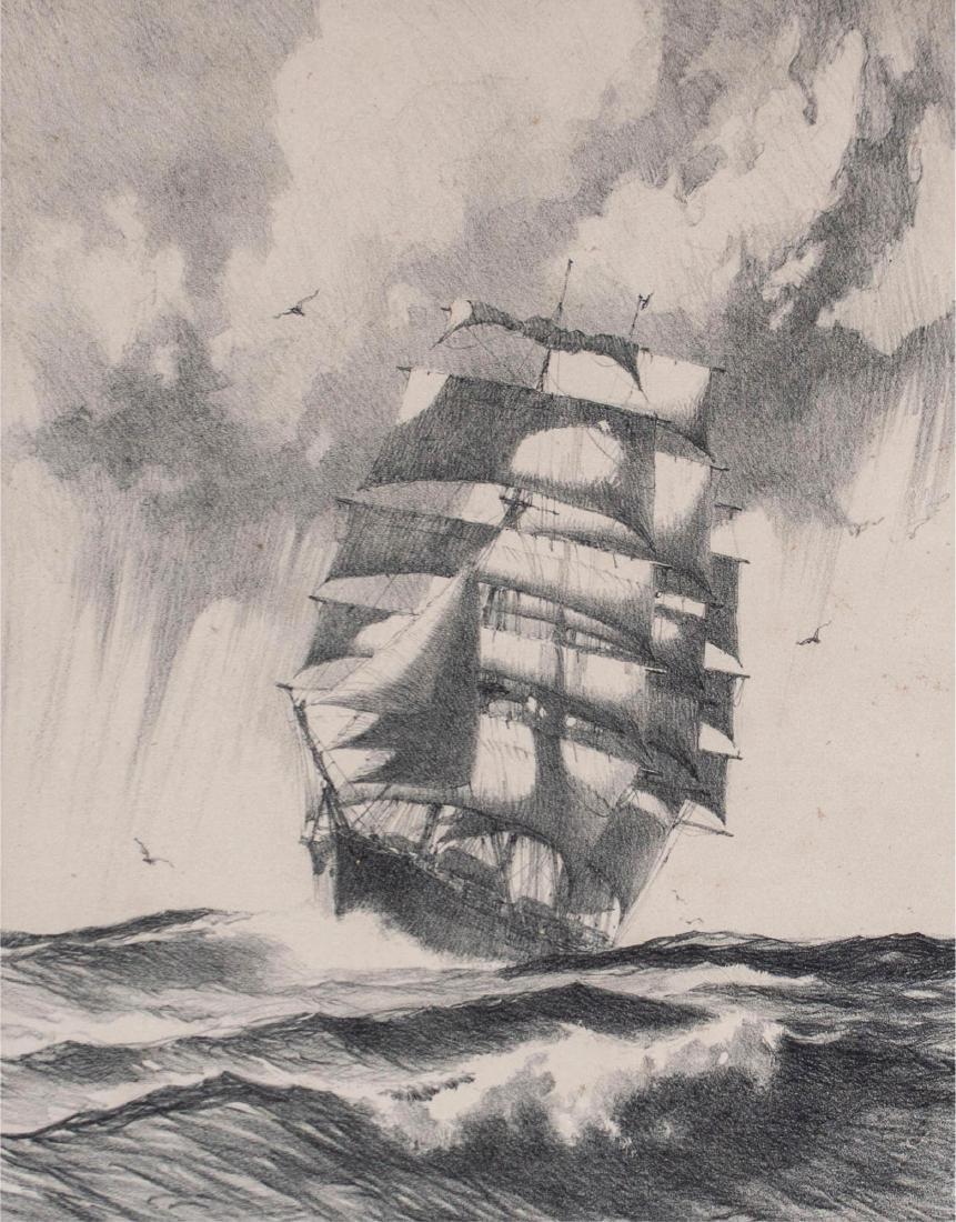 Gordon Hope Grant (American 1875-1962) Mid Ocean - 2