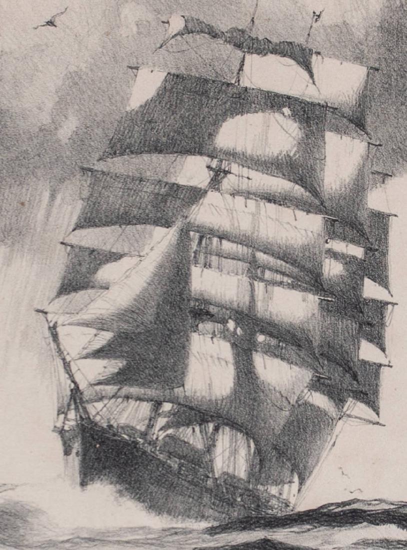 Gordon Hope Grant (American 1875-1962) Mid Ocean - 3