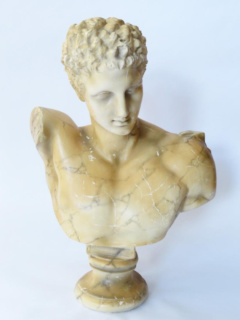 Classical Decorated Composition Bust of Hermes - 2