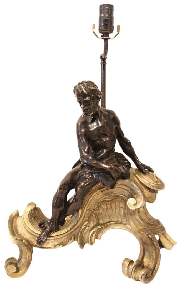 A French Bronze Figure of Hephaestus, Early 19th
