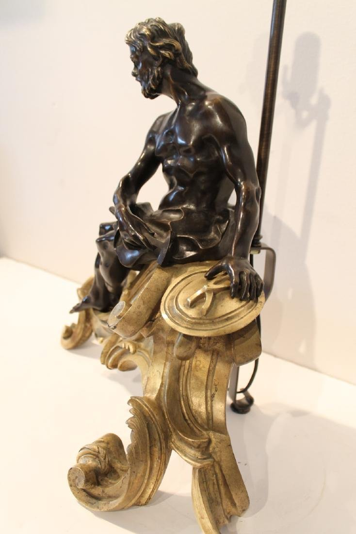 A French Bronze Figure of Hephaestus, Early 19th - 4
