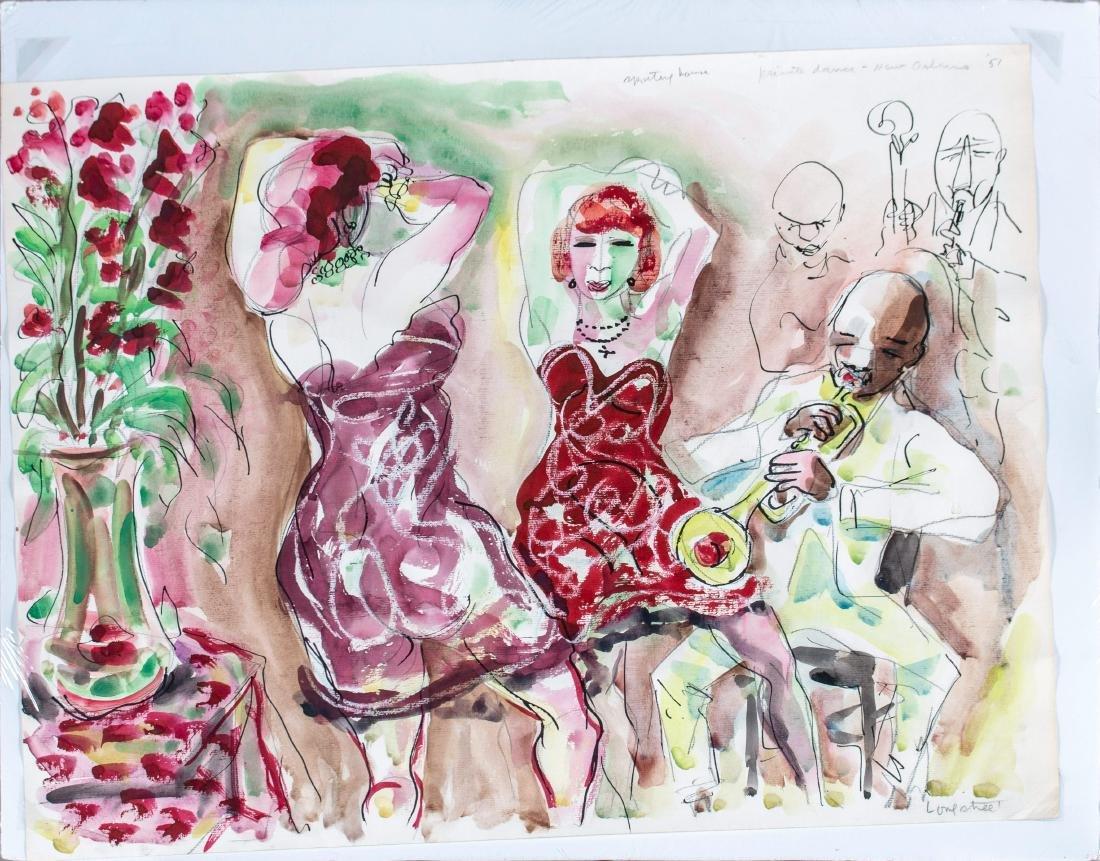 Stephen Longstreet (American, 1907-2002) Private Dance, - 2