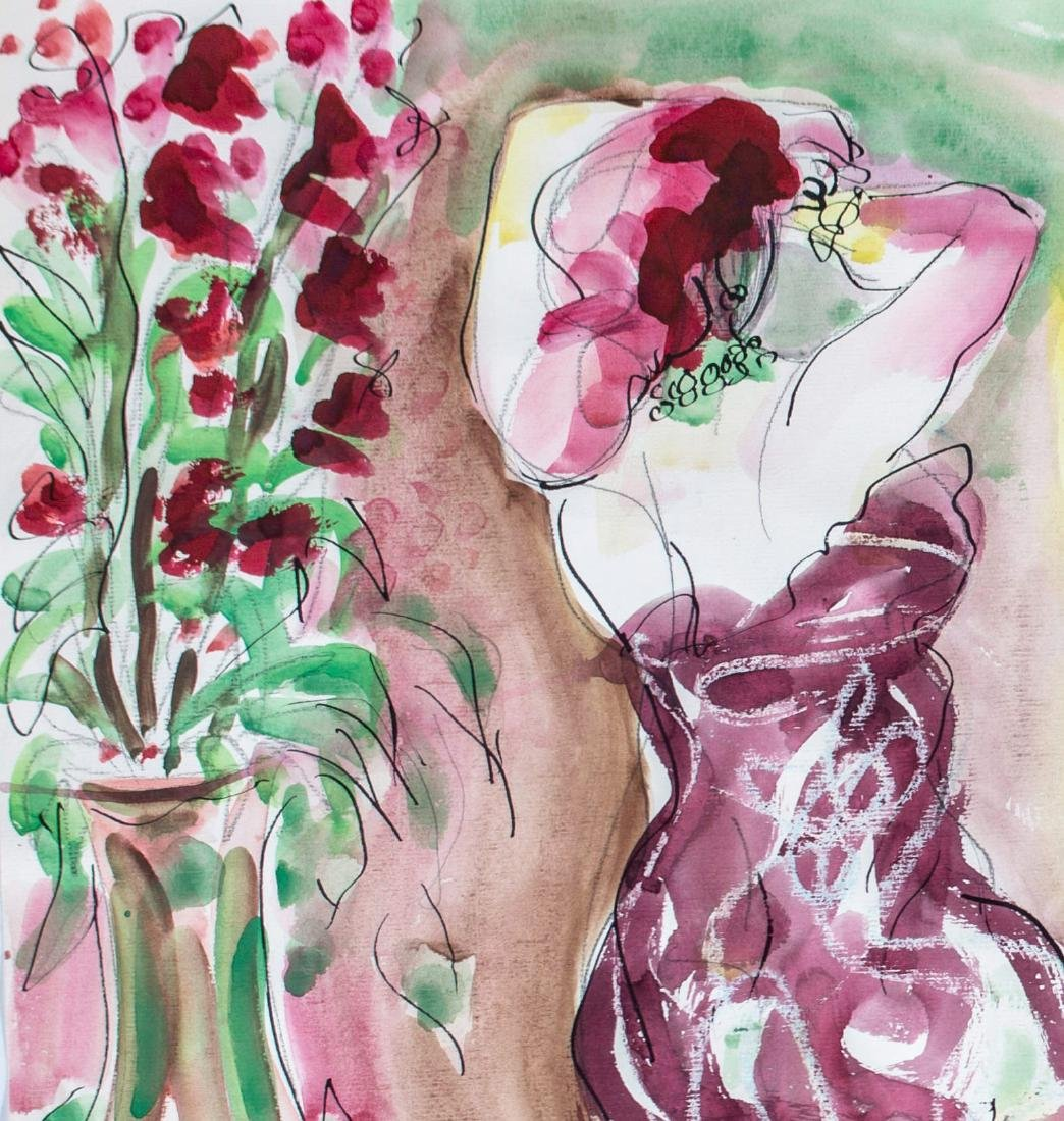 Stephen Longstreet (American, 1907-2002) Private Dance, - 3