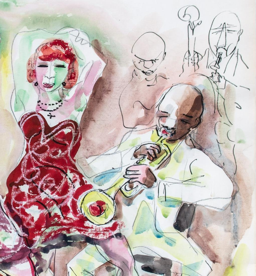 Stephen Longstreet (American, 1907-2002) Private Dance, - 4
