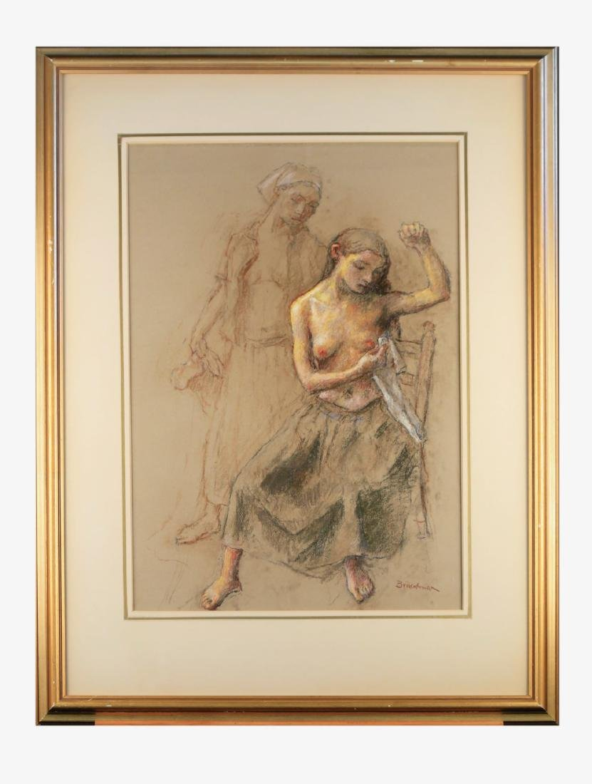 Robert Brackman (American, 1898-1980) Two Women
