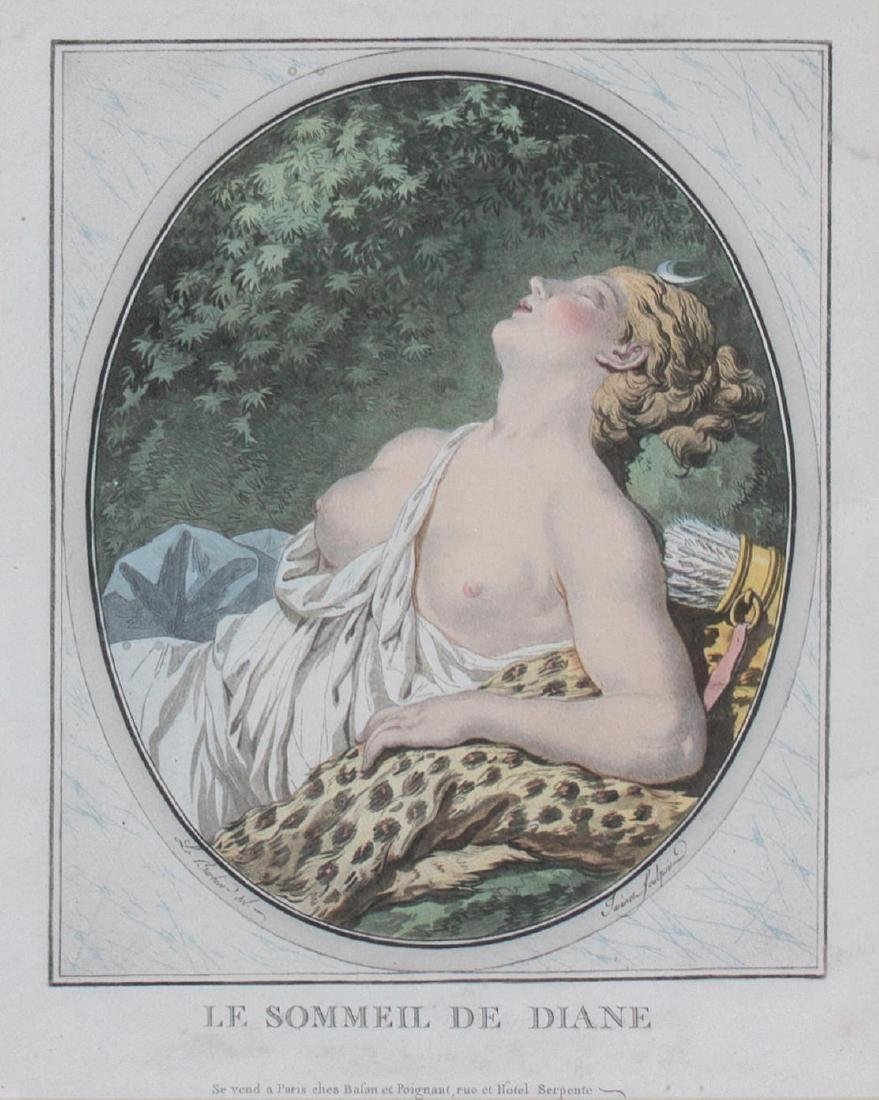 Le Sommeil De Diane, 19th Century French School - 2