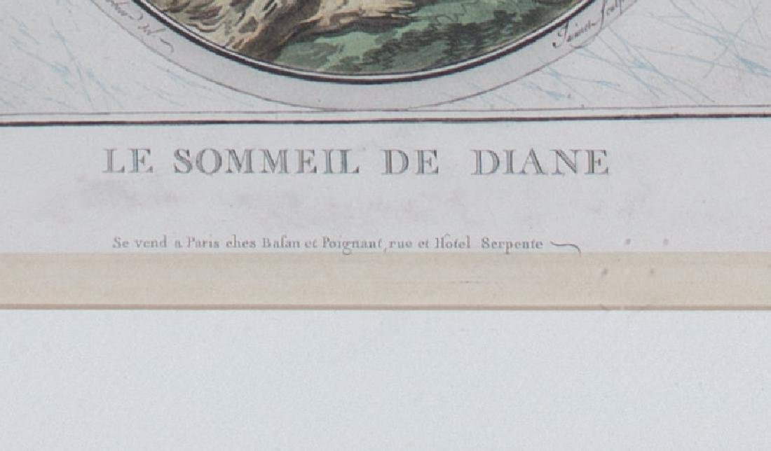 Le Sommeil De Diane, 19th Century French School - 3