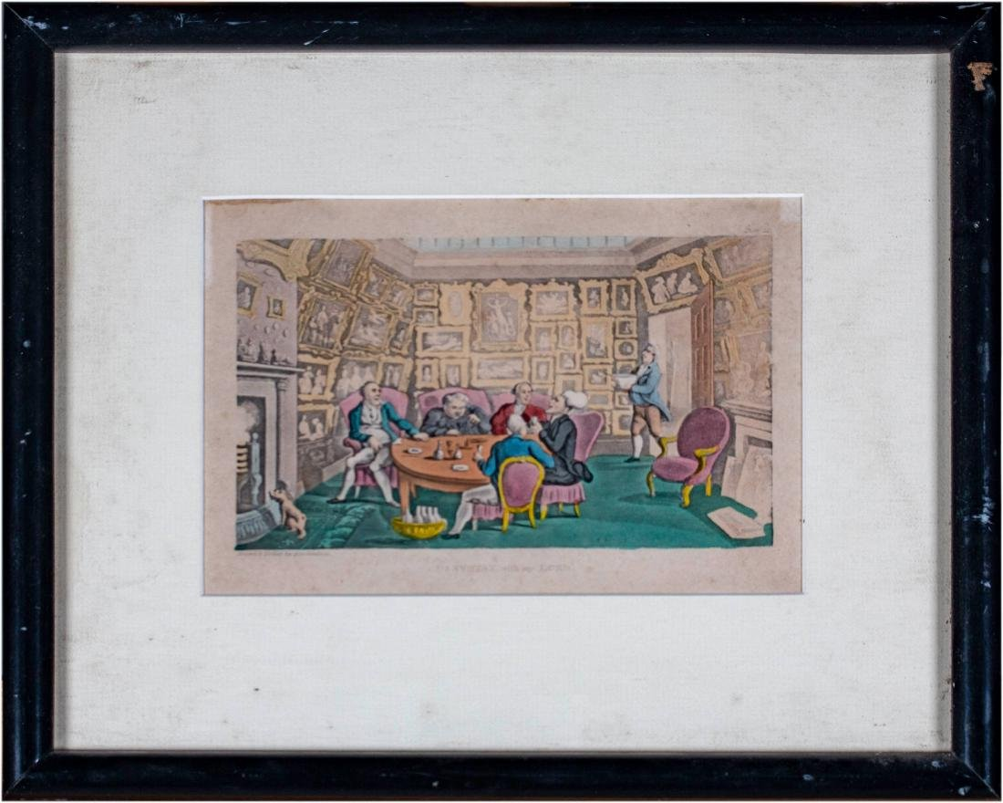 43 Set of Thirteen English Prints from the Tours of - 10