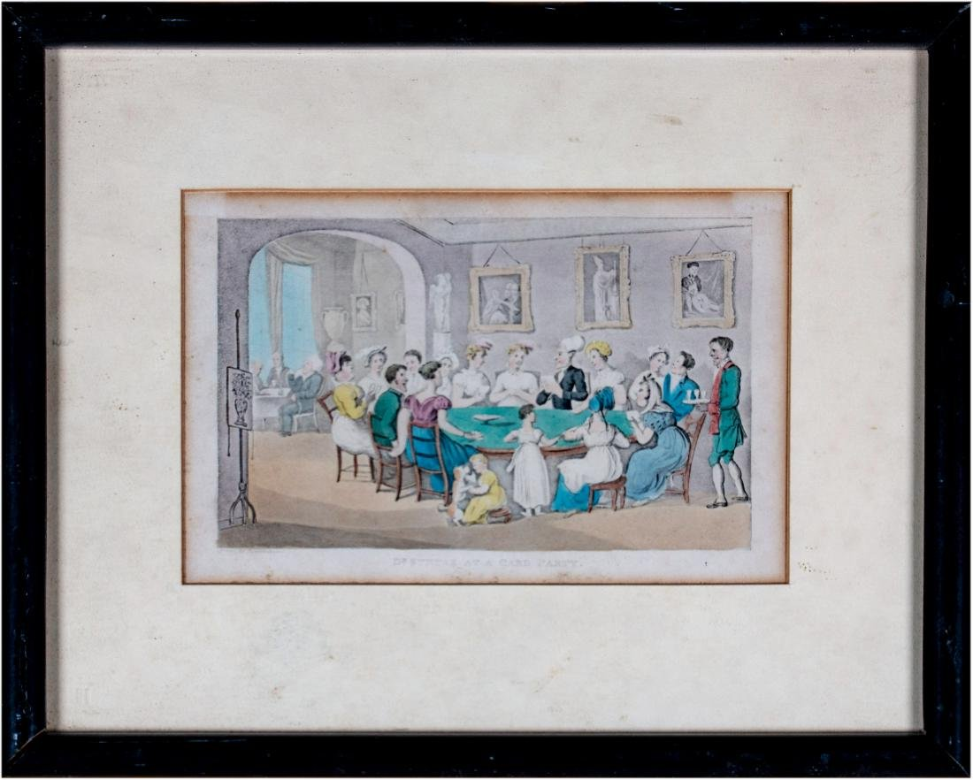 43 Set of Thirteen English Prints from the Tours of - 3