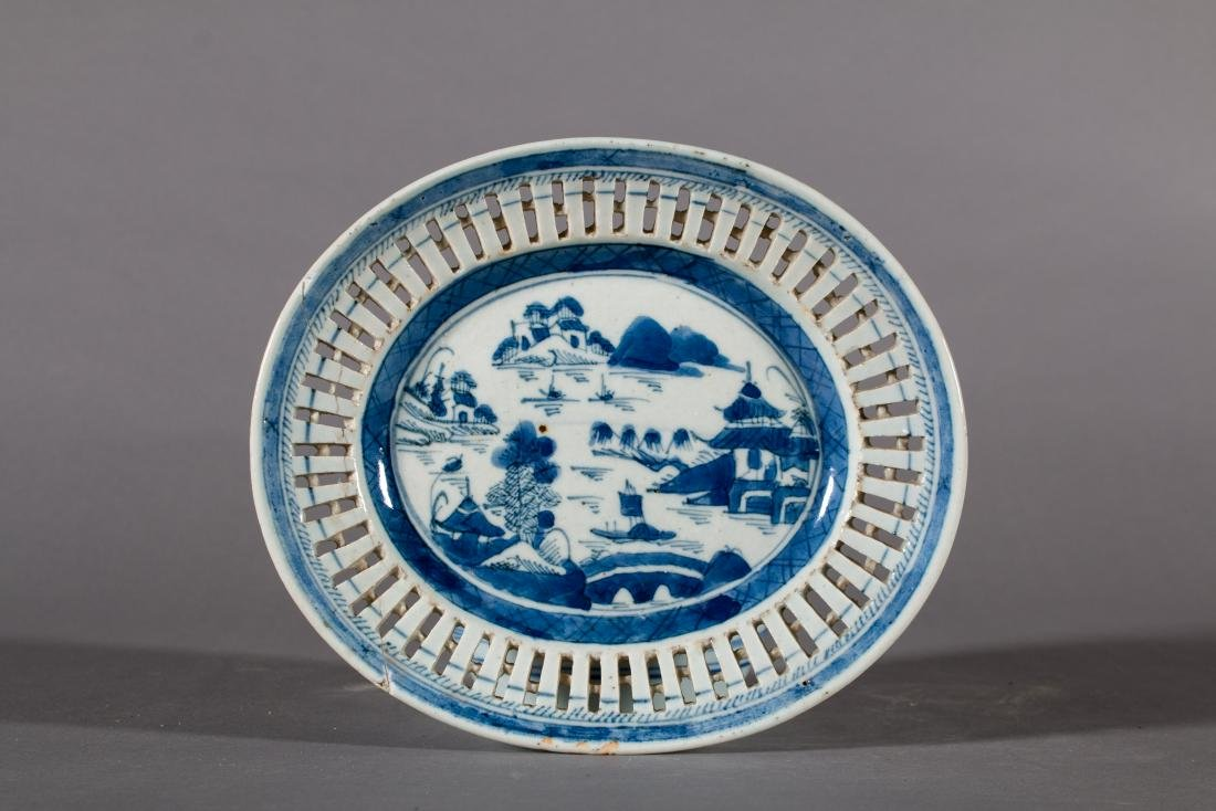 Three Pieces of Decorated Chinese Porcelain - 6
