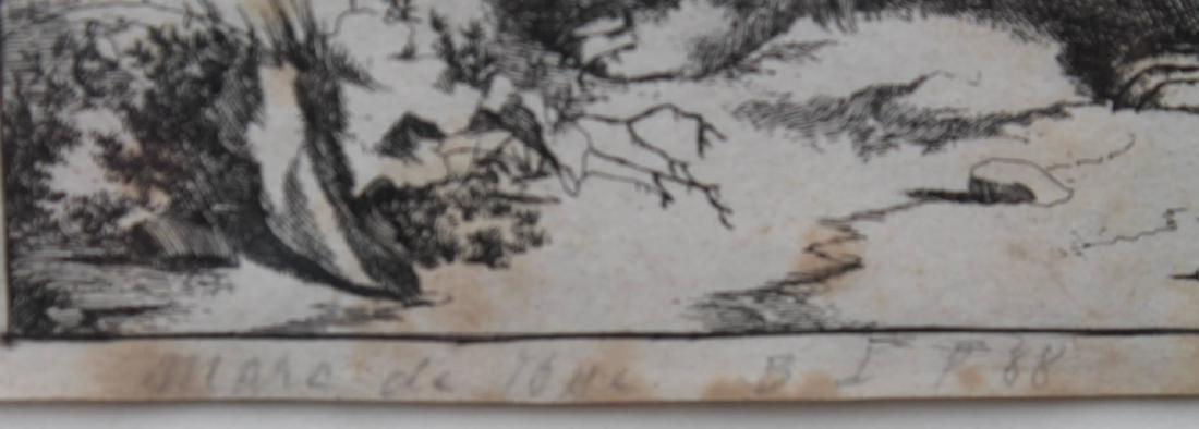 Antique Engraving of a Bear - 3