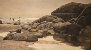 John C. Pellew (American 1903-1993) The Clam Diggers