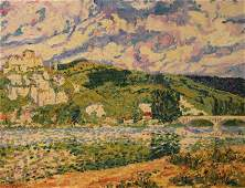 Raoul Crepaux (French 20th c.) Landscape