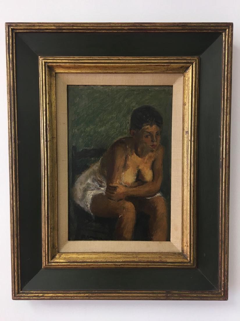 Raphael Sawyer Painting on Board