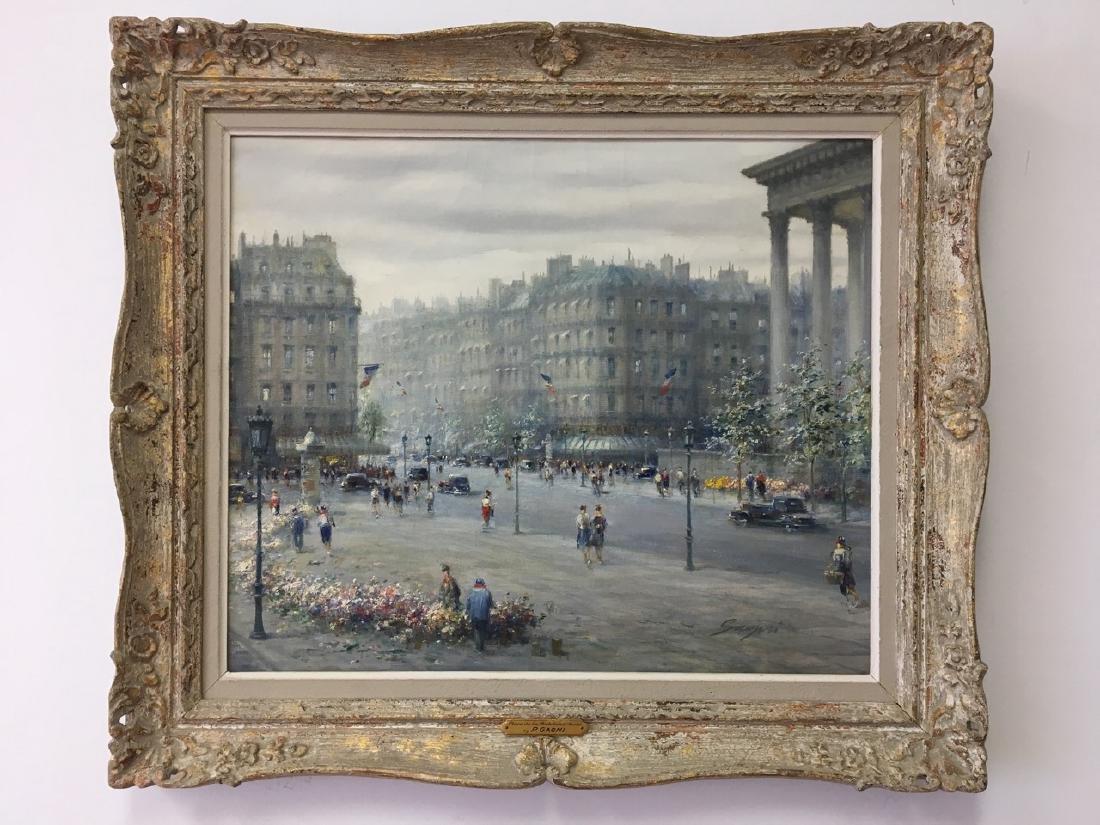 Paris Scene by P. Gagni