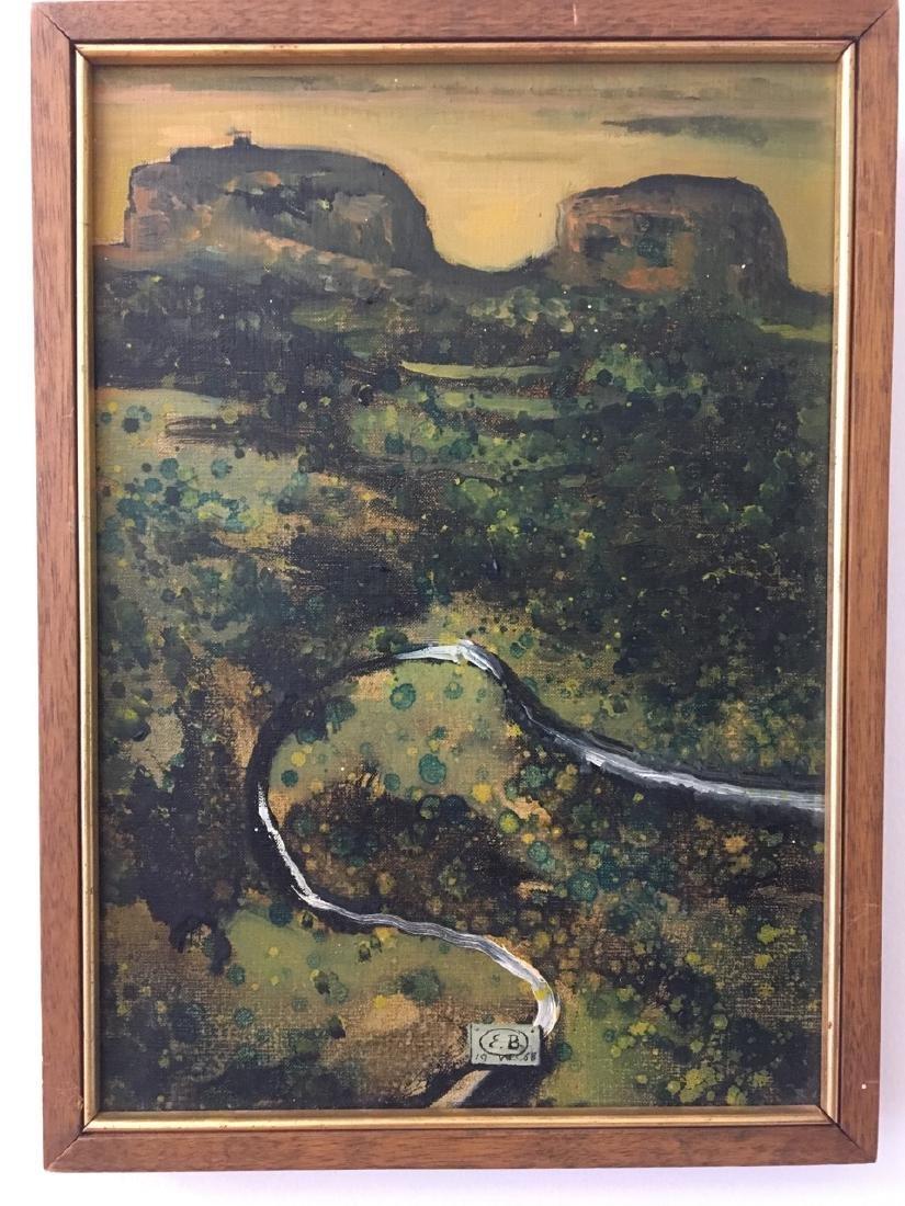 Eugene Berman, Painting of Umbrian Landscape