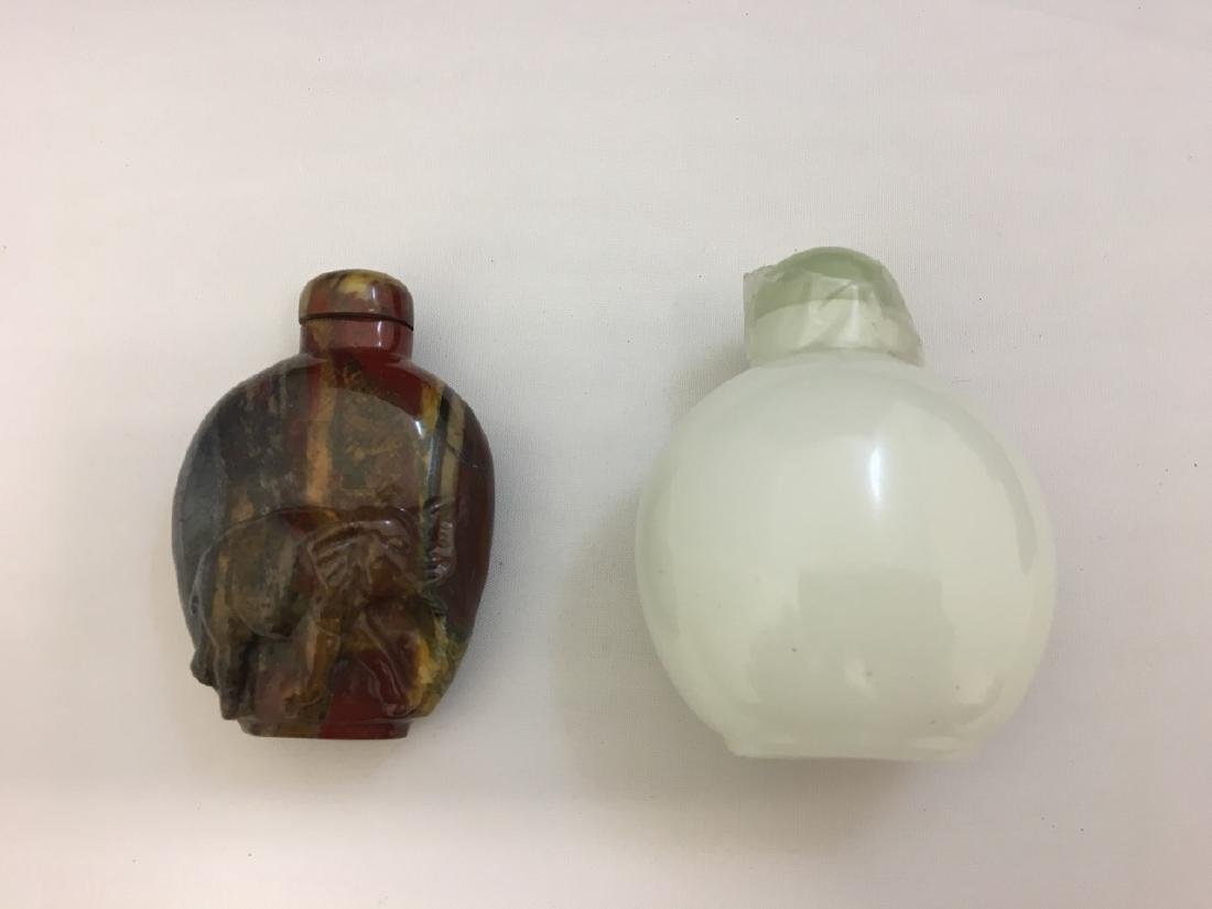 Two Chinese Snuff Boxes