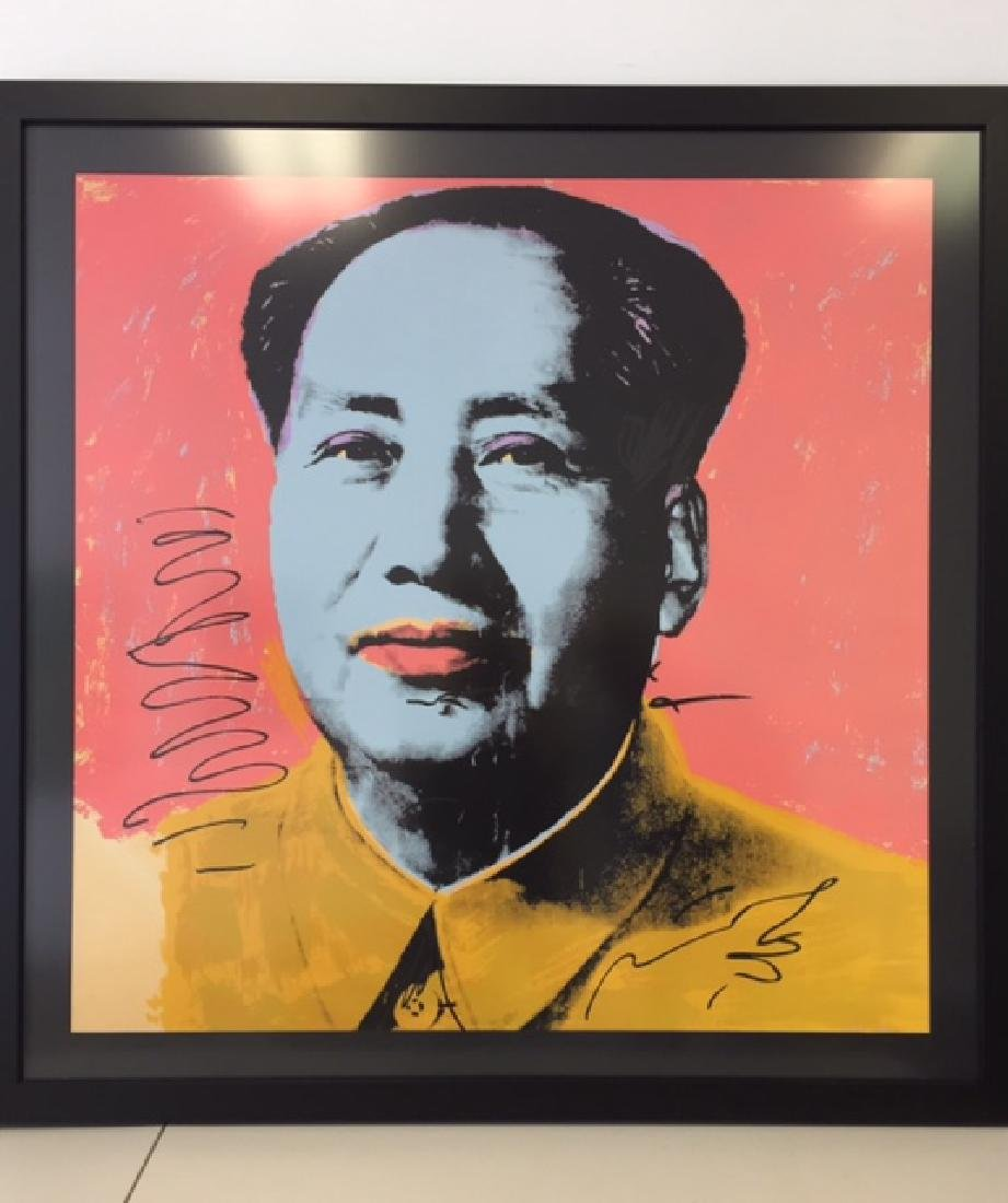 Andy Warhol, Signed & Attributed Lithograph