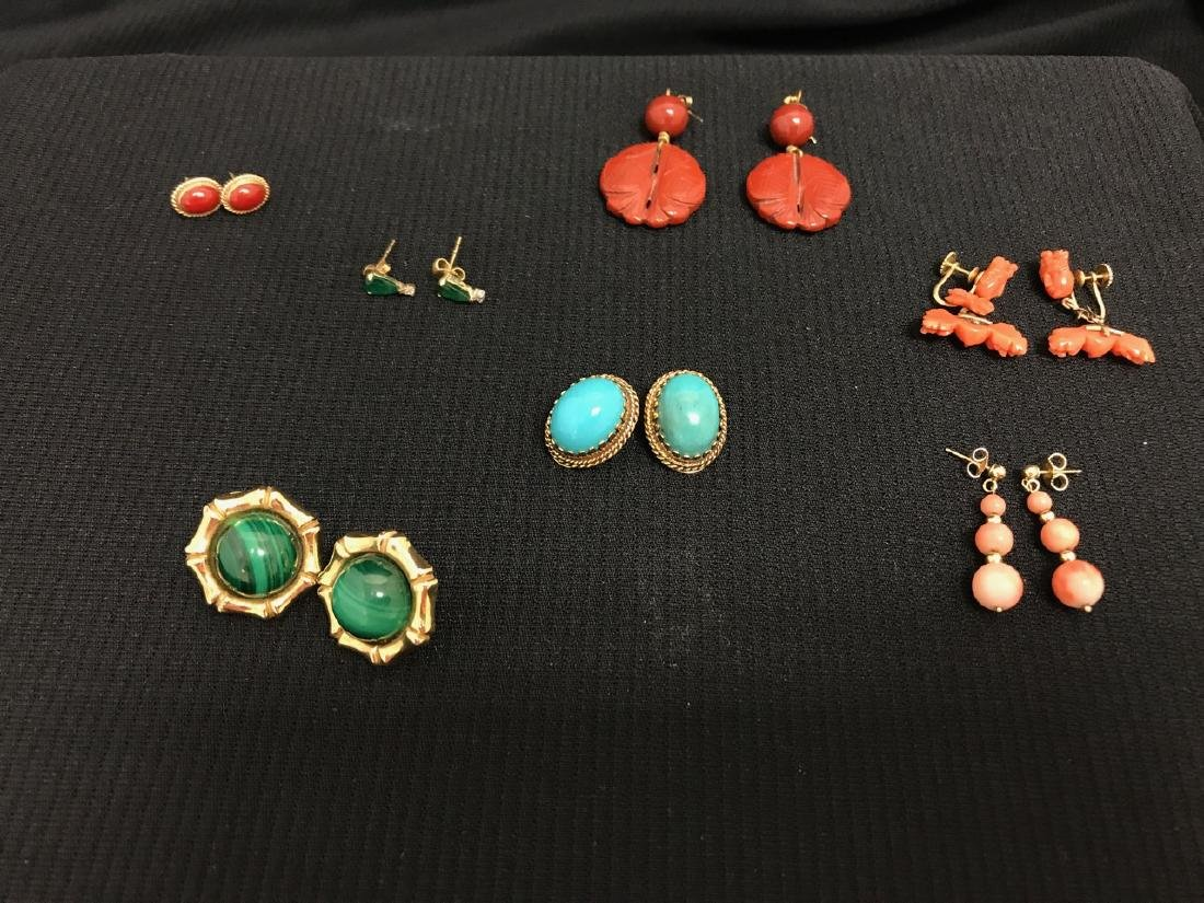 Collection of Gold Earrings